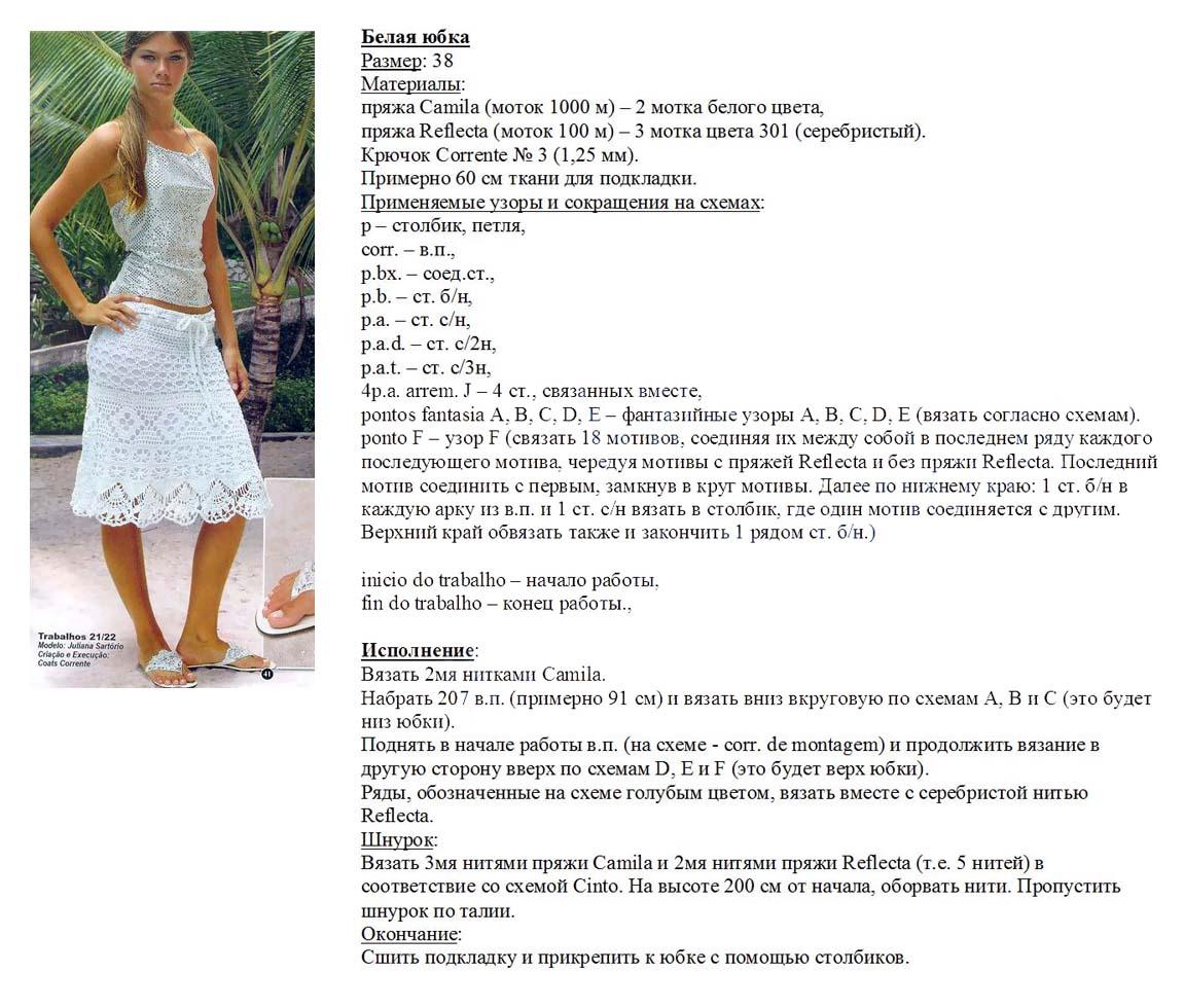 Поиск на Постиле: Ажурные юбки спицами 46