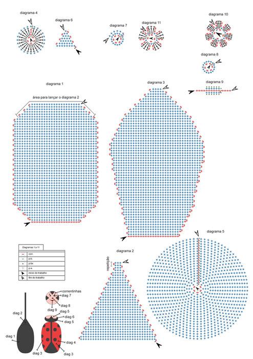 Для увеличения схемы вязания