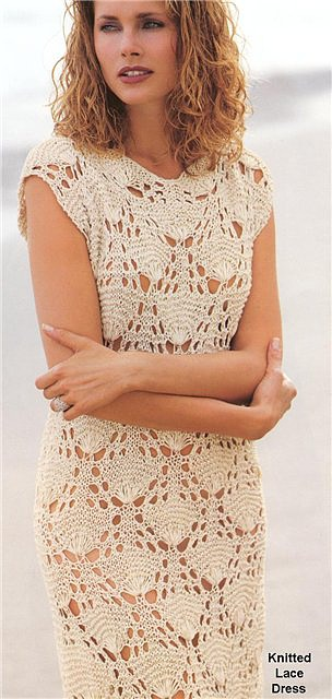 Вязать крючком платье