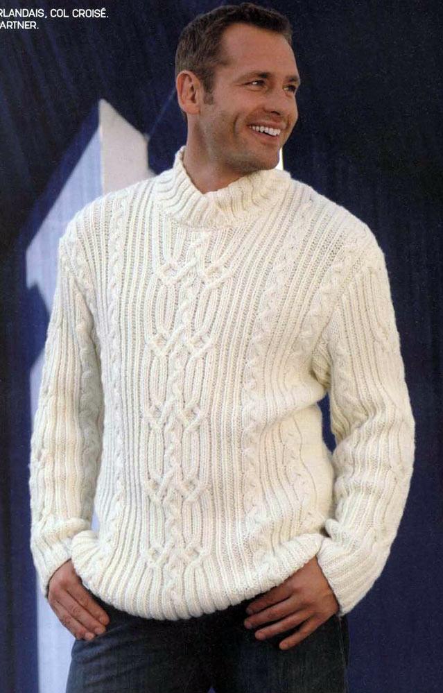 и описания вязания свитера